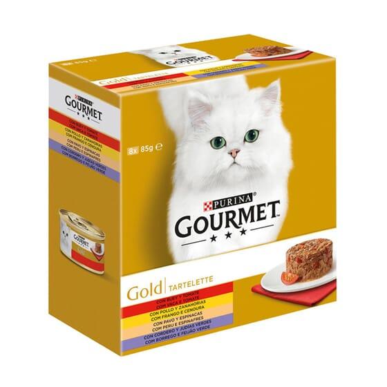 Gold Tartallette Pack Surtido 8X85g de Gourmet