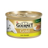 Gold Terrine Conejo 85g de Gourmet