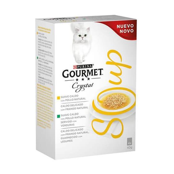 Crystal Soup Frango 4X40g da Gourmet