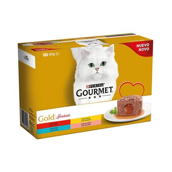 Gold Fondant Multipack Sortido 12X85g da Gourmet