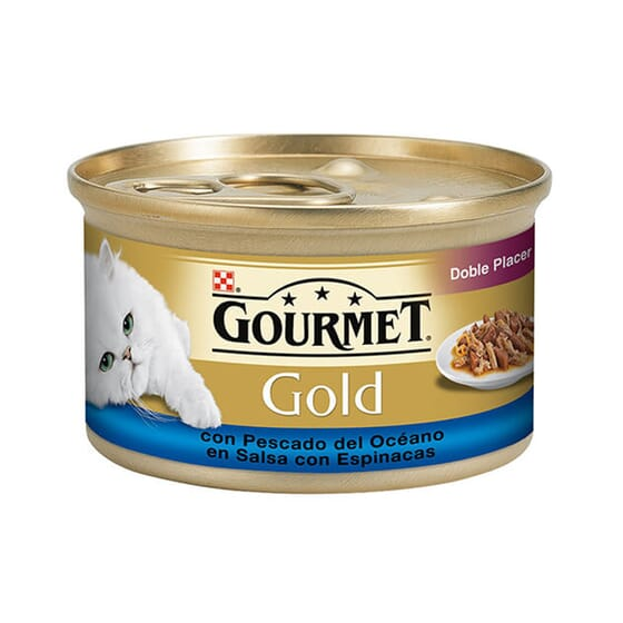 Gold Doble Placer Com Peixe Do Oceano 85g da Gourmet