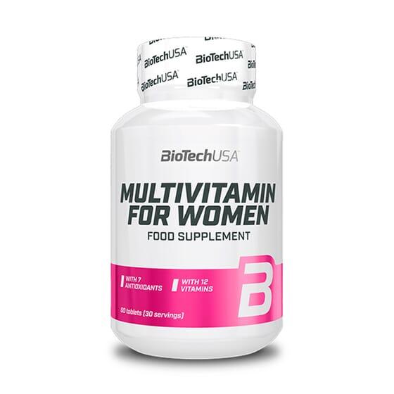 Multivitamin For Women 60 Tabs da Biotech USA
