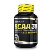 Bcaa 3D 90 Caps de Biotech Usa