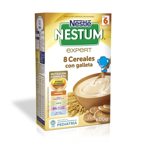 NESTUM 8 CEREALES CON GALLETA 600g - NESTLE NESTUM
