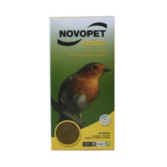 Alimento Para Pássaros Insectívoros 900g da Novopet