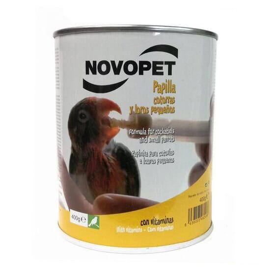 Bouillie Perruches et Perroquets Petits 400 g de Novopet