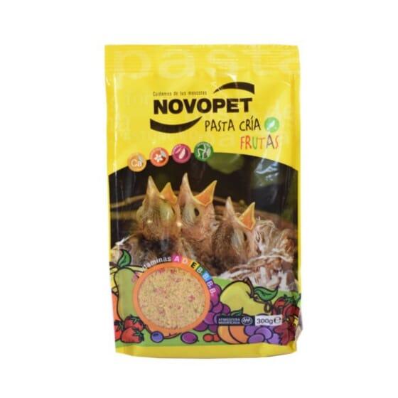 Pâte d'Élevage aux Frutas Pour Oiseaux 300 g de Novopet