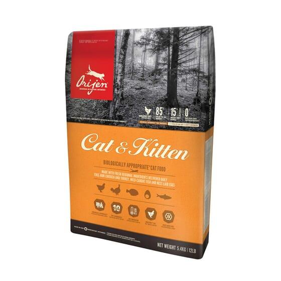Orijen Dry Cat & Kitten 5,4 Kg
