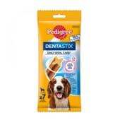 Dentastix Snack Cães Raças Médias 7 Barras da Pedigree