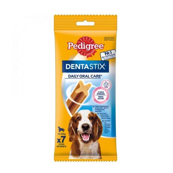 Dentastix Snack Perros Razas Medianas 7 Barritas de Pedigree