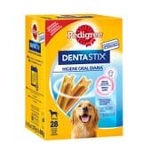 Dentastix Snack Cães Raças Grandes Pack Mensal 28 Barras da Pedigree