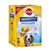 Dentastix Snack Cães Raças Médias Pack Mensal 28 Barras da Pedigree