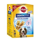 Dentastix Snack Perros Razas Medianas Pack Mensual 28 Barritas de Pedigree