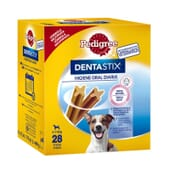 Dentastix Snack Perros Razas Pequeñas Pack Mensual 28 Barritas de Pedigree