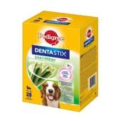 Dentastix Fresh Snack Cães Raças Médias Pack Mensal 28 Barras da Pedigree