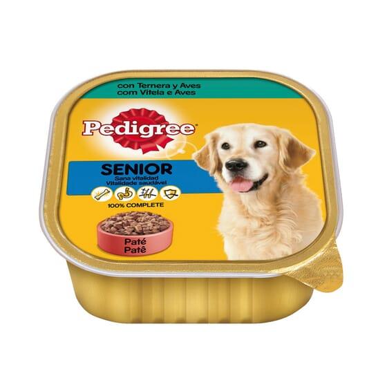 Senior Alimento Húmedo Tarrina Para Perros Adultos 300g de Pedigree