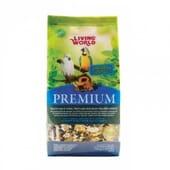 Premium Alimento Papagaio 770g da Living World