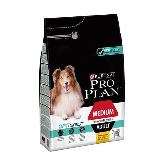 Perro Adulto Razas Medianas Con Digestión Sensible Pollo 14 Kg de Pro Plan
