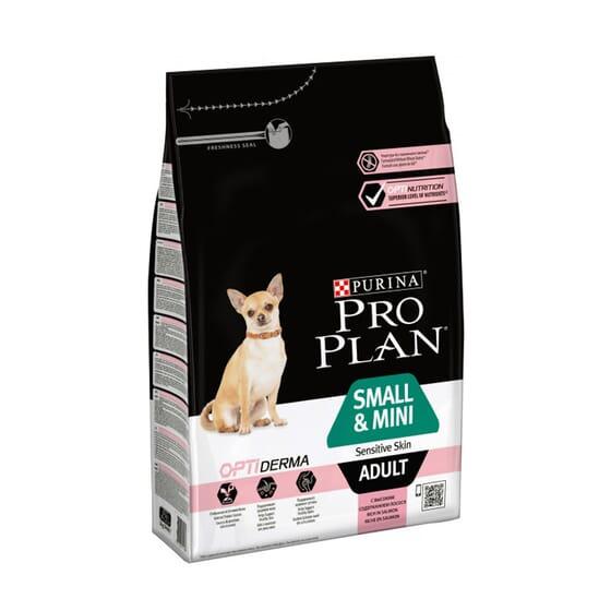 Perro Adulto Razas Pequeñas Con Piel Sensible Optiderma Salmón 700g de Pro Plan