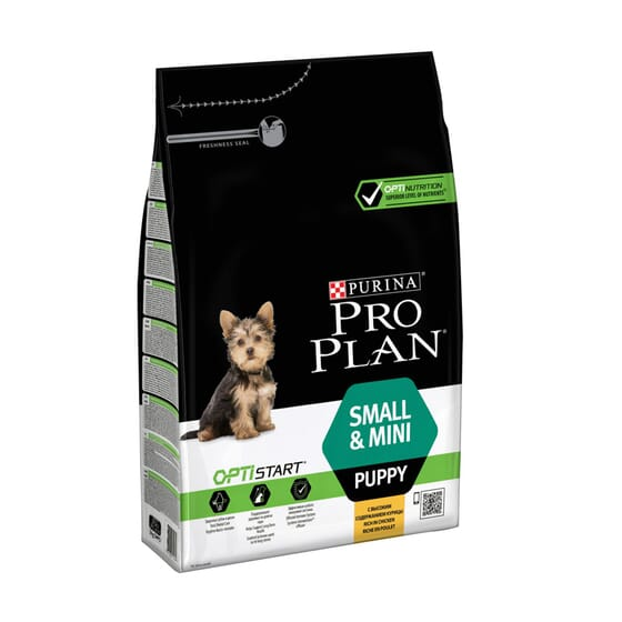 Cachorro Razas Pequeñas y Miniaturas Con Optistart Pollo 700g de Pro Plan