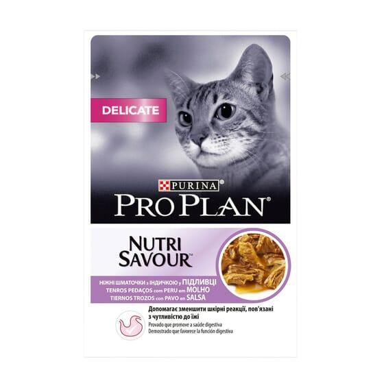Gato Delicate Peru Com Molho 85g da Pro Plan