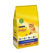 Gatos Esterilizados Com Peru e Verduras 1,5 Kg da Friskies