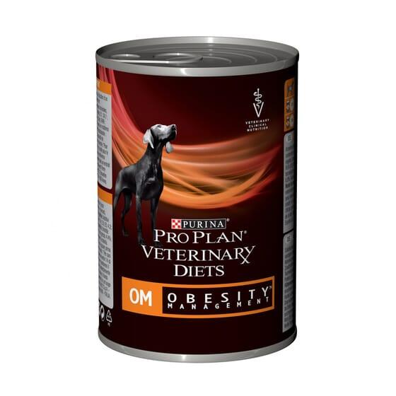 Comida Húmeda Para Perro OM Obesity Management Mousse 400g de Pro Plan Veterinary Diets