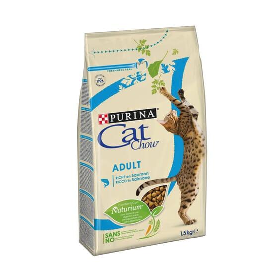 Cat Chow Gato Adulto Salmão 3 Kg da Purina