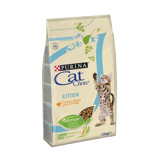 Cat Chow Kitten Gatitos Pollo 1,5 Kg de Purina