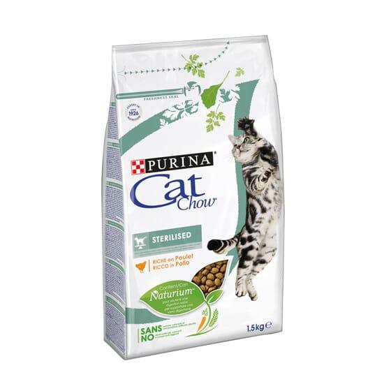 Cat Chow Gato Esterilizado Rico Em Frango 1,5 Kg da Purina