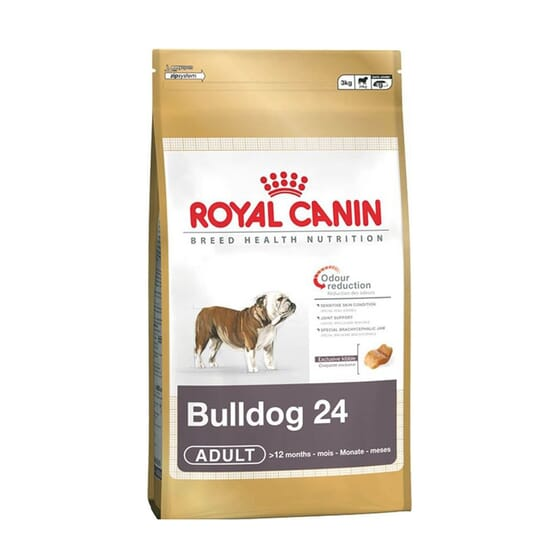 Pienso Bulldog Adulto 3 Kg de Royal Canin