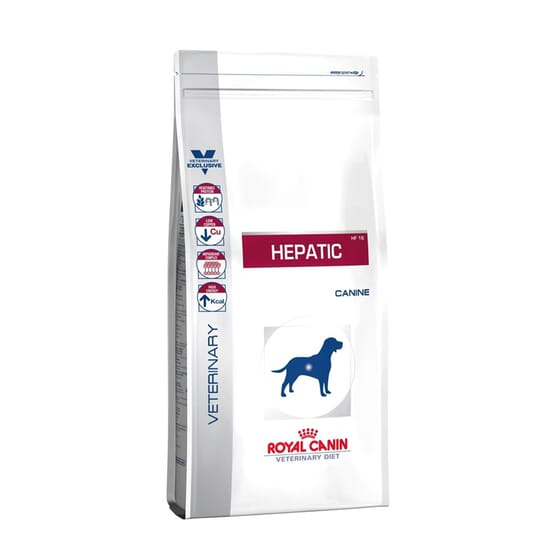 Veterinary Diet Pienso Perro Adulto Hepatic 12 Kg de Royal Canin