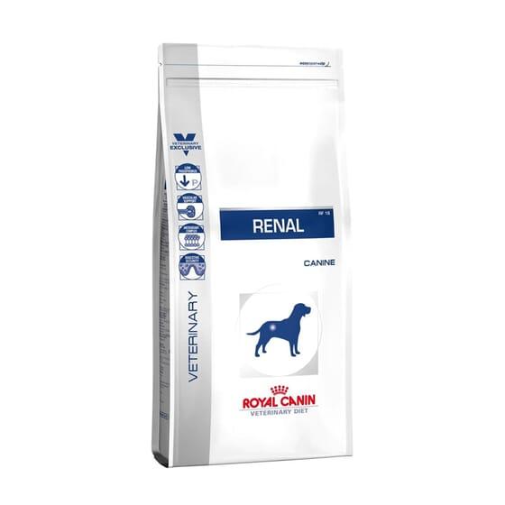 Veterinary Diet Ração Cão Adulto Renal 2 Kg da Royal Canin