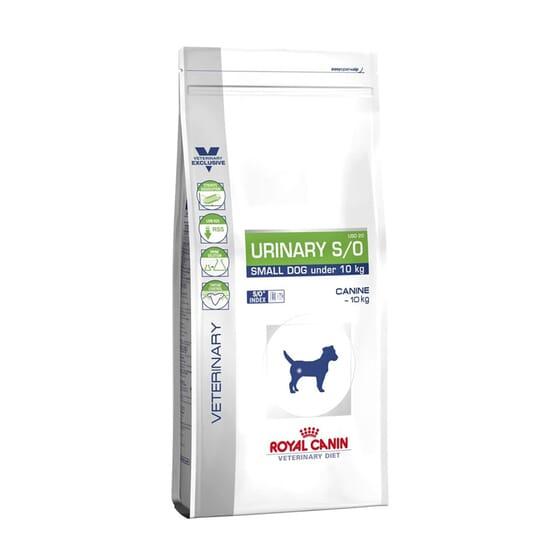 Veterinary Diet Pienso Perro Adulto Urinary S/O Razas Pequeñas 4 Kg de Royal Canin