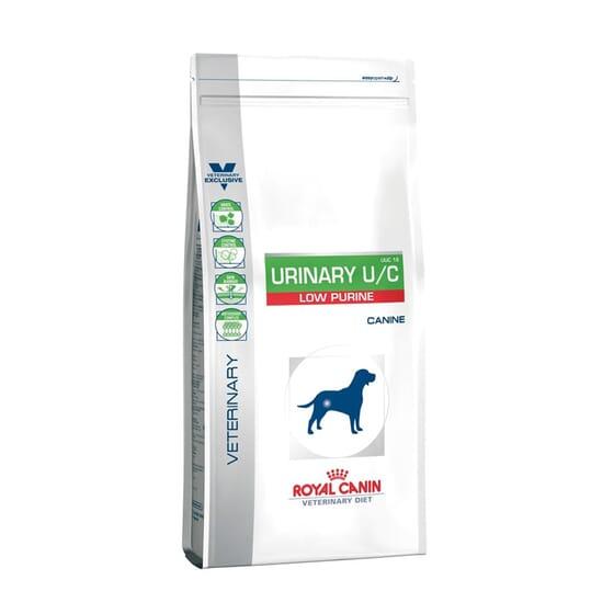 Veterinary Diet Pienso Perro Adulto Urinary U/C Low Purine 14 Kg de Royal Canin