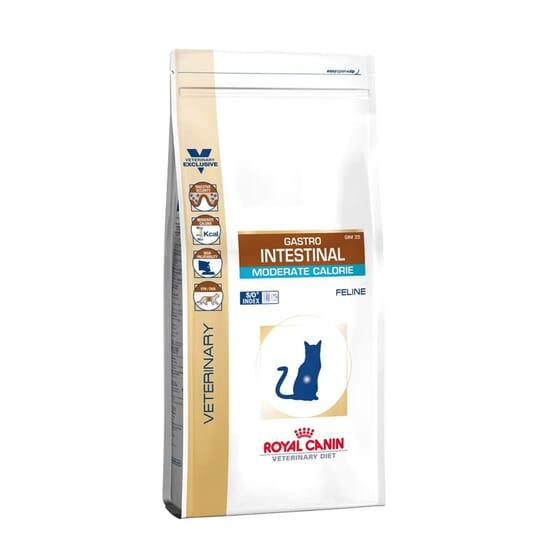 Veterinary Diet Pienso Gato Adulto Gastrointestinal Moderate Calorie 400g de Royal Canin