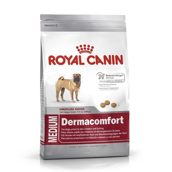 Ração Cão Adulto Raças Médias Dermacomfort 10 Kg da Royal Canin