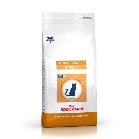 Veterinary Diet Ração Gato Senior Consult Stage 1 - 1,5 Kg