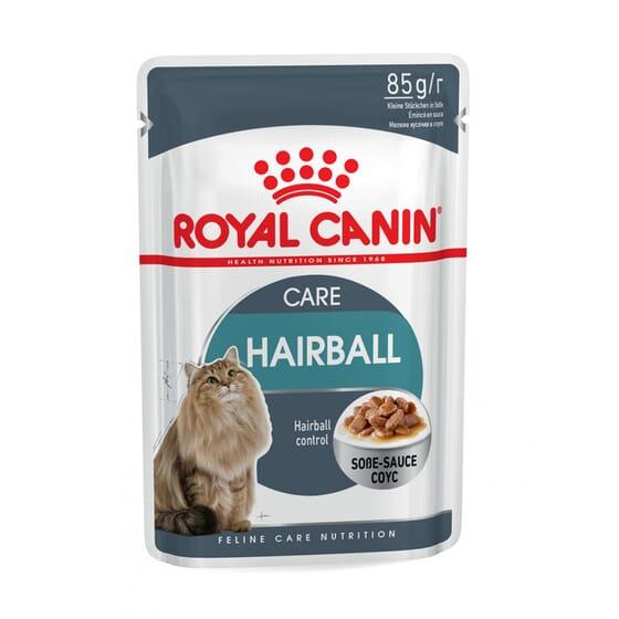 Comida Húmida Gato Adulto Hairball Care Com Molho 1 Saqueta De 85g da Royal Canin