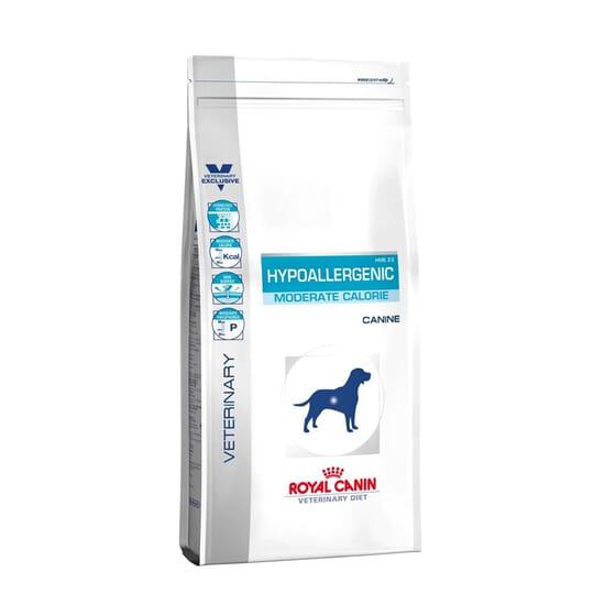 Veterinary Diet Ração Cão Adulto Hypoallergenic Moderate Calorie 7 Kg da Royal Canin