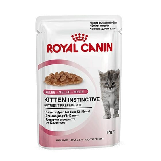 Comida Húmida Gatinho Instinctive Em Gelatina 1 Saqueta De 85g da Royal Canin