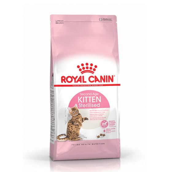 Ração Gatinho Esterilizado Second Age 2 Kg da Royal Canin