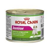 Comida Húmeda Perro Junior Razas Pequeñas 1 Lata De 195g de Royal Canin