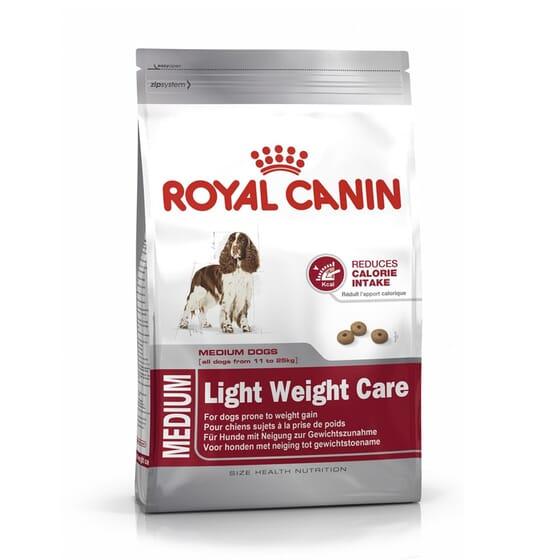 Ração Cão Adulto Raças Médias Light Weight Care 3 Kg da Royal Canin