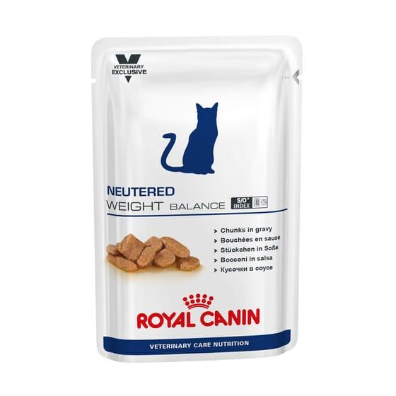 Veterinary Diet Neutered Comida Húmida Gato Weight Balance 1 Saqueta De 100g da Royal Canin