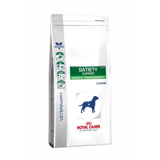 Veterinary Diet Ração Cão Adulto Satiety Support Weight Management 12 Kg da Royal Canin