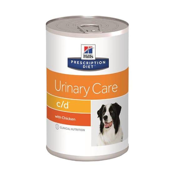 Prescription Diet Cão c/d Multicare Lata Frango 370g da Hill's