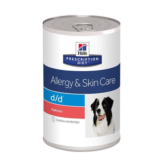 Prescription Diet Cão d/d Allergy Skin Care Lata Salmão 370g da Hill's