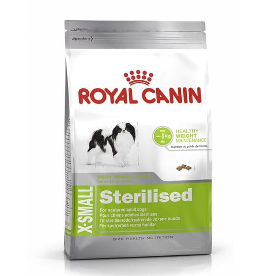 Ração Cão Adulto Raças Muito Pequenas Esterilizado 1,5 Kg da Royal Canin