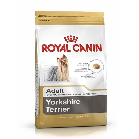 Ração Yorkshire Terrier Adulto 1,5 Kg da Royal Canin